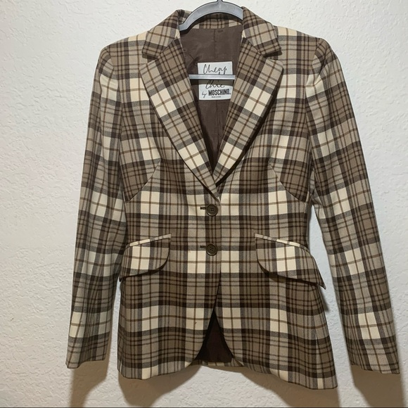 Chic and Cheap Moschino Two button Blazer